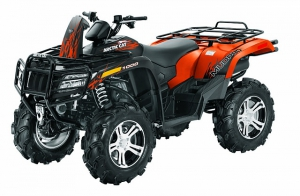 Мотовездеход Arctic Cat 1000 i MUD PRO LTD (2012)